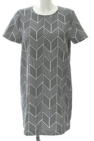 Zara Minikleid grafisches Muster Casual-Look