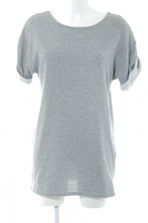 Zara Minikleid grau-graugrün meliert Casual-Look