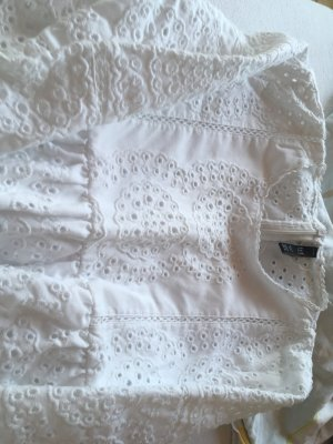 Zara Mini Dress white cotton