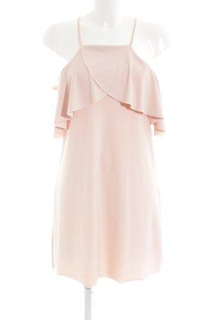Zara Minikleid nude Nude-Look