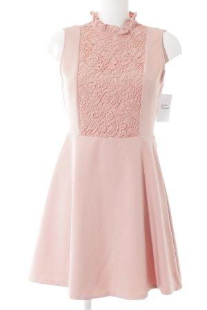 Zara Robe courte rosé-rose élégant
