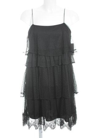 Zara Robe courte noir style gothique