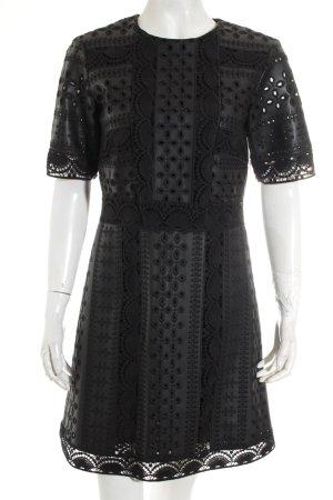 Zara Minikleid schwarz Party-Look