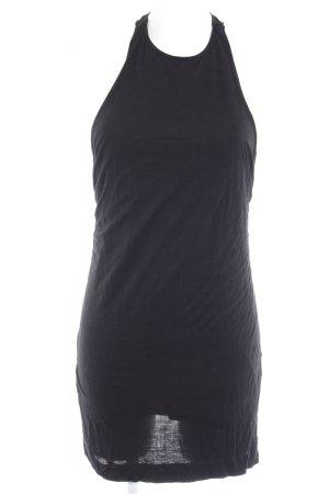 Zara Minikleid schwarz schlichter Stil