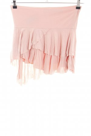 Zara Minirock pink Casual-Look