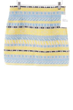 Zara Minirock abstraktes Muster 70ies-Stil