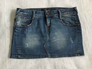 Zara Minirock aus Jeans Used Look
