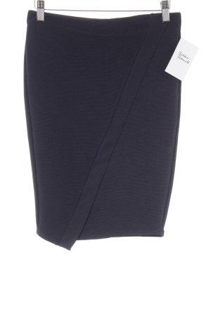 Zara Minirock dunkelblau Elegant