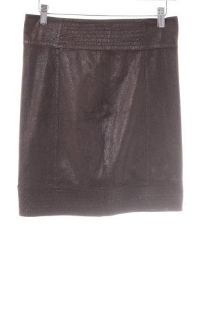 Zara Minigonna marrone scuro stile casual