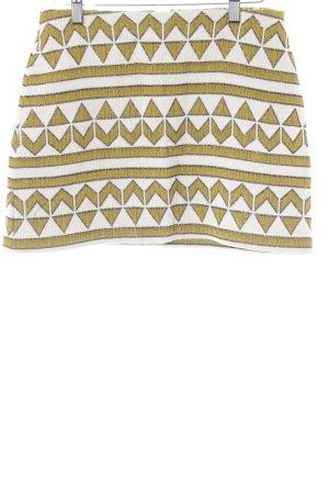 Zara Minirock grafisches Muster Ethno-Look