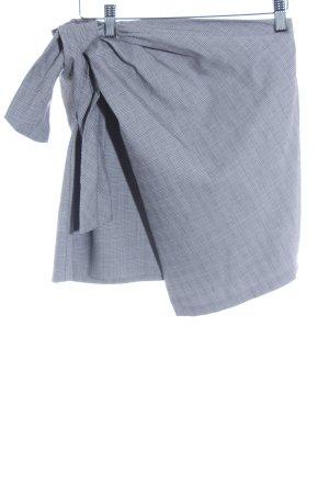 Zara Minirock Hahnentrittmuster Business-Look