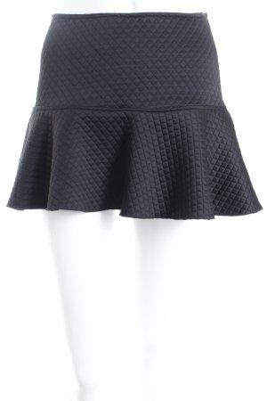 Zara Minirock schwarz Street-Fashion-Look
