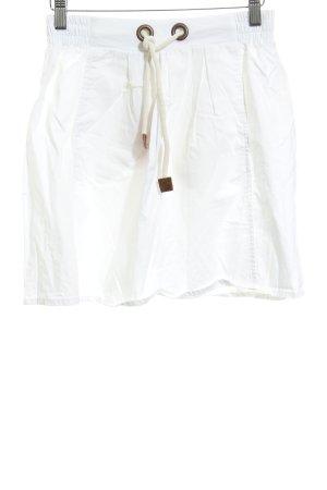 Zara Minirock weiß Casual-Look