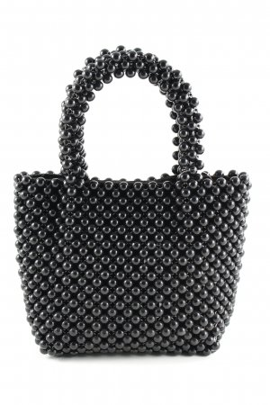 Zara Minitasche schwarz Punktemuster Elegant