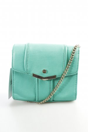 Zara Minitasche goldfarben-mint Street-Fashion-Look