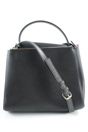 Zara Minitasche schwarz Business-Look