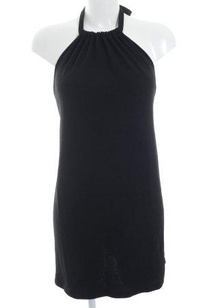 Zara Neckholderkleid schwarz Elegant