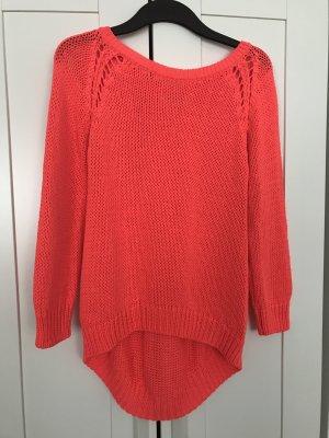 Zara Knit Gehaakte trui veelkleurig