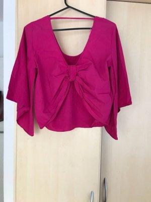 Zara Oversized blouse magenta