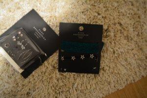 Zara Neue accessories - ein paar Ohringe, Hals Kette