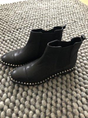 Zara Botines Chelsea negro
