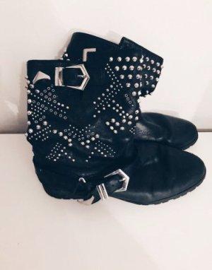 Zara Korte laarzen zwart
