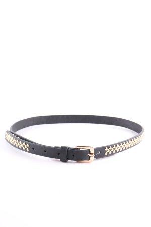 Zara Cintura borchiata nero-oro stile casual