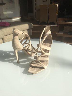 Zara Nude Sandaletten
