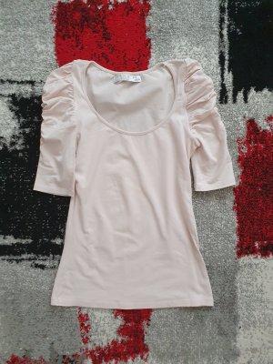 Zara Camiseta rosa empolvado-rosa claro