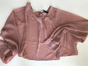Zara Woman Chemisier vieux rose-noir