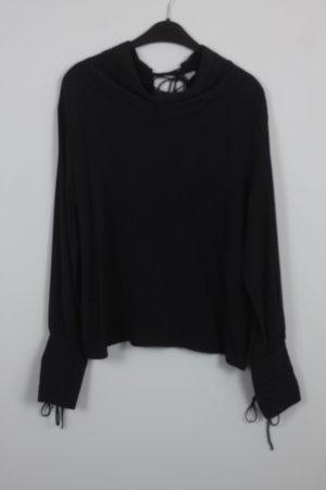 Zara Blouse noir viscose