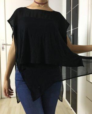 Zara Oberteil in schwarz
