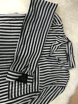 Zara Camicetta a blusa nero-bianco