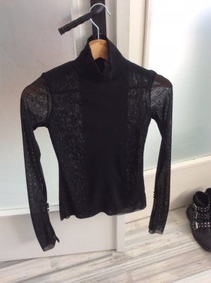 Zara Long Sleeve Blouse black