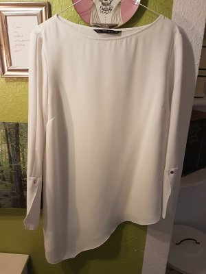 Zara Oberteil weiß XL Bluse