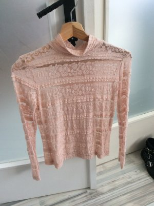 Zara Long Sleeve Blouse pink