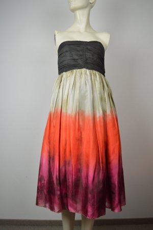 Zara off-Shoulder Kleid, Gr. M, Seide