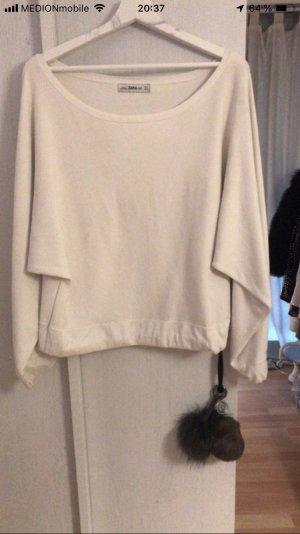 Zara Off-Shoulder Pullover