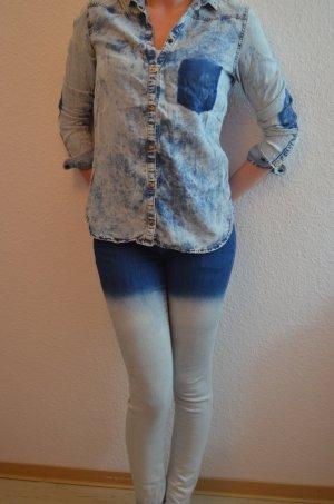 Zara Ombré Jeans Gr. 36/38 S