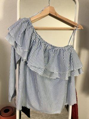 Zara One Shoulder Bluse