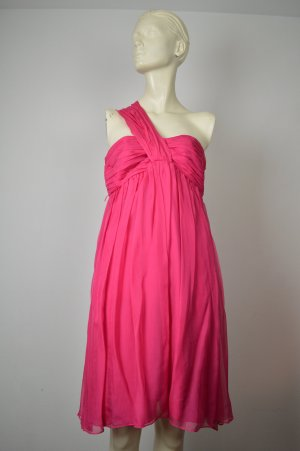 Zara Robe de cocktail magenta soie