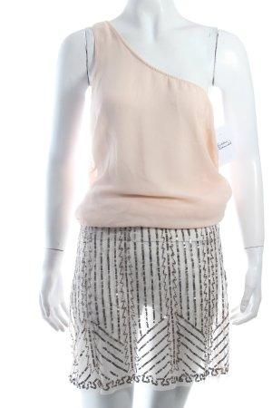 Zara Robe asymétrique rose clair style festif