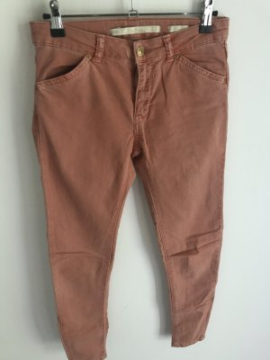 Zara orange/rote Stoffhose