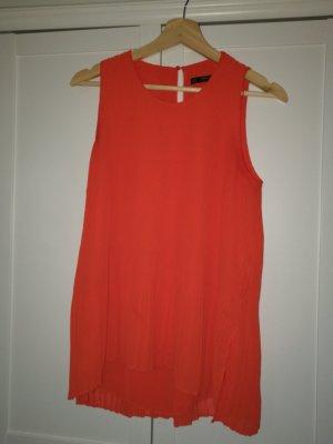 ZARA orange-rotes Shirt