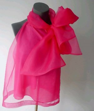 Zara Blouse sans manche rose-rose fluo fibre synthétique