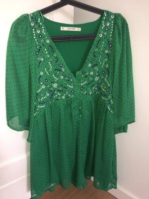 Zara Basic Jumpsuit groen-bos Groen