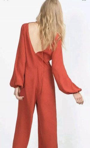 Zara Haut rouge brique