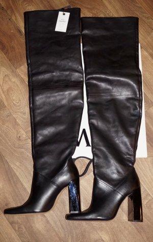 Zara Overknee Stiefel GR 36 neu
