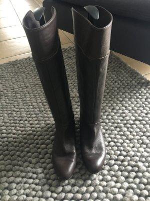 Zara Botte haute brun