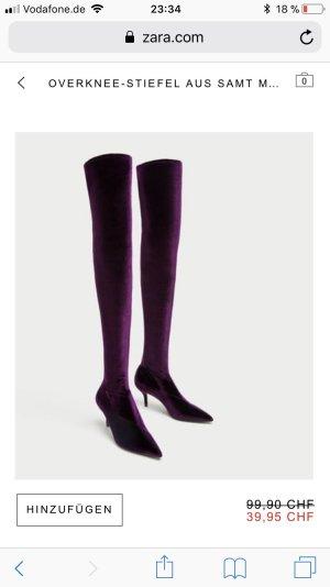 Zara Overknees multicolored
